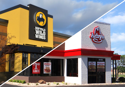 Arby's and Buffalo Wild Wings merger