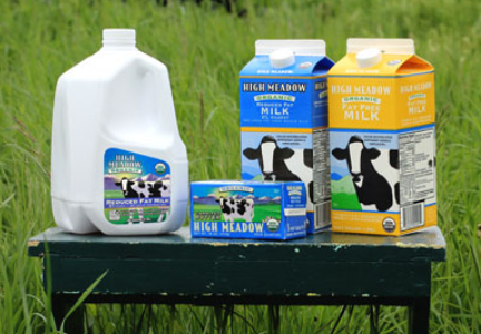 Aurora Organic Dairy products