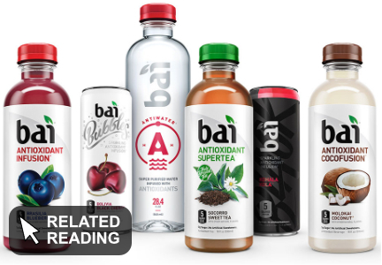 Dr Pepper Snapple rebuilding Bai, 'one bottle at a time'