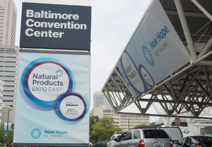 Baltimore Convention Center Natural Products Expo East