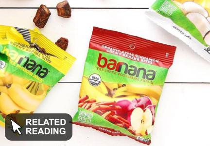 Healthy snack maker Barnana receives $5.3 million investment
