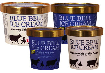 Blue Bell chocolate chip cookie dough recall