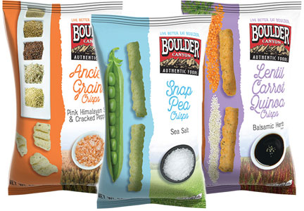 Inventure Foods Boulder Canyon ancient grains snacks