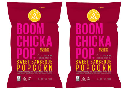 Angie's Boom Chicka Pop Sweet Barbeque popcorn