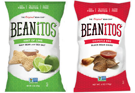 Beanitos Hint of Lime and Chipotle BBQ bean chips