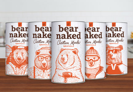 Bear Naked Custom Granola, Kellogg