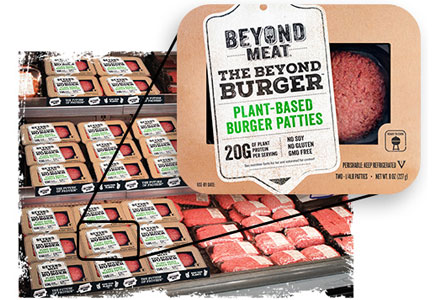 Beyond Meat, the Beyond Burger