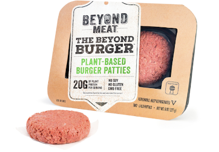 Beyond Meat plant-based Beyond Burger