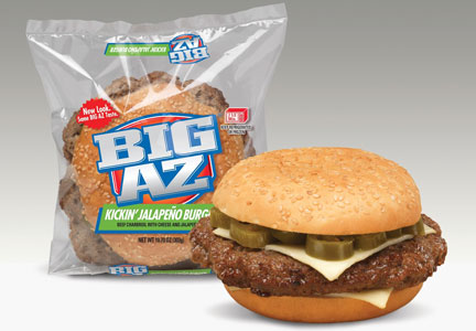 AdvancePierre Big Az jalapeno burger