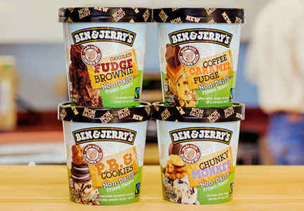 Ben & Jerry's vegan dairy-free ice cream