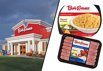 Bob Evans restaurant and BEF Foods