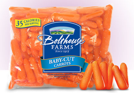 Bolthouse Farms carrots, Campbell Soup