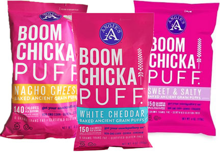 Angie's Boom Chicka Puff varieties