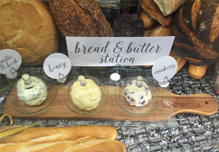 Bread and butter station