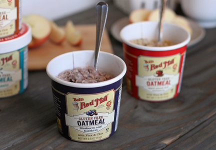 Bob's Red Mill gluten-free oatmeal cups