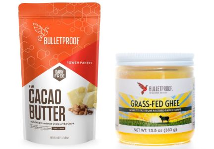 Bulletproof cacao butter and ghee