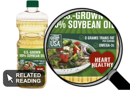 F.D.A. okays Bunge petition on soybean oil health claims