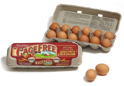 Willamette Egg Farms cage-free eggs
