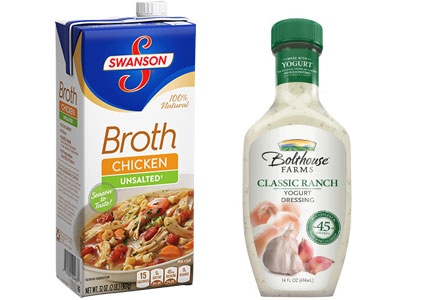 Campbell Soup Co. Swanson Broth and Bolthouse Farms dressing