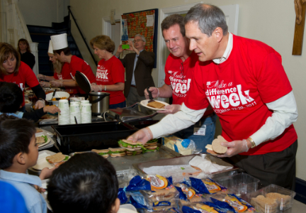Campbell Soup volunteering