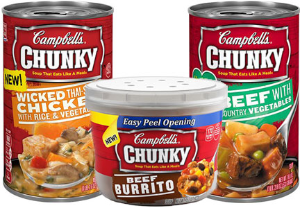Campbell chunky soup