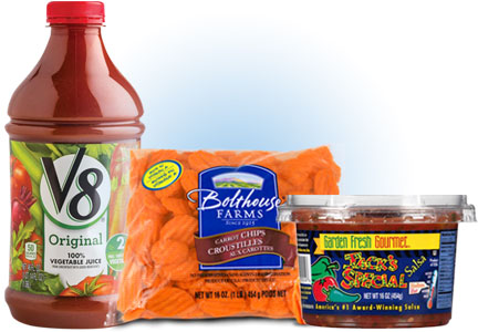 Campbell Soup Fresh unit - V-8, Garden Fresh Gourmet, Bolthouse Farms