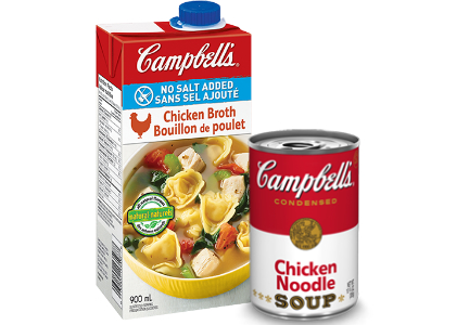 Campbell Soup condensed soup and broth