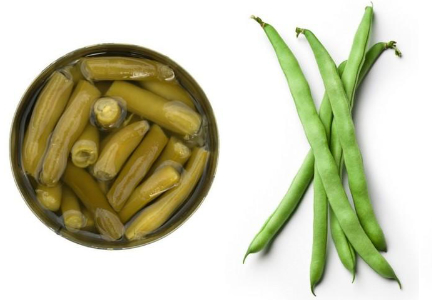 Canned vs fresh green beans