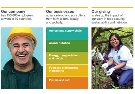 Cargill sustainability report