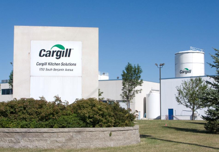 Cargill egg facility in Mason City