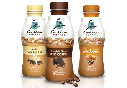 Caribou Cofee R.T.D. iced coffee, Dean Foods