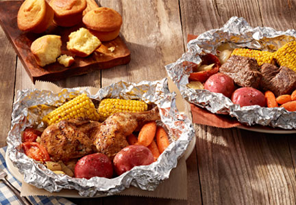 Cracker Barrel Campfire Meals