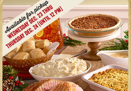 Cracker Barrel Heat 'N Serve To Go Holiday Family Meals