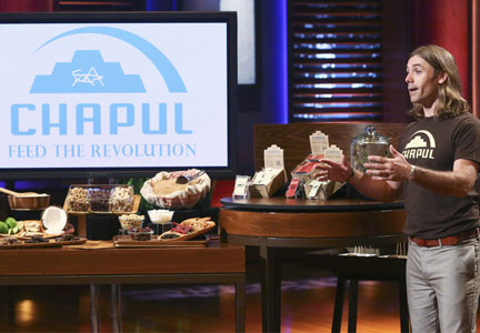 Chapul founder Pat Crowley on Shark Tank
