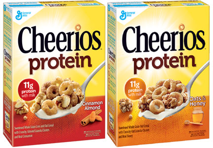 Cheerios Protein cereal, General Mills