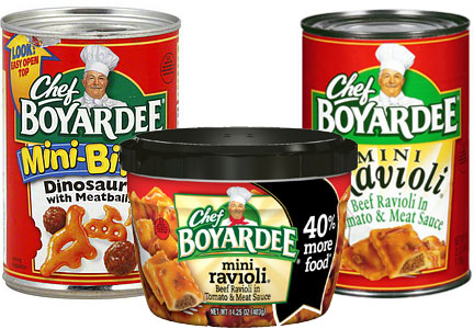 Chef Boyardee products, ConAgra