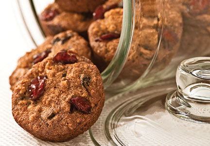 Tart cherry cookies