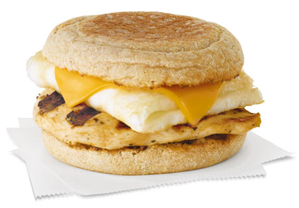 Chick-fil-A Egg White Grill, whole grains