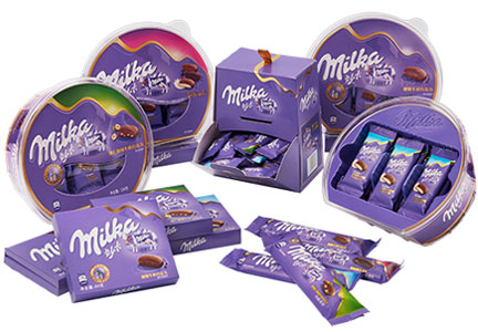 Milka chocolate in China, Mondelez