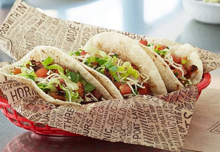 Chipotle soft tacos
