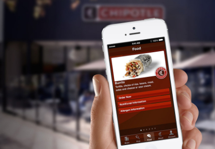 Chipotle mobile