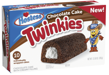 Chocolate Twinkies, Hostess