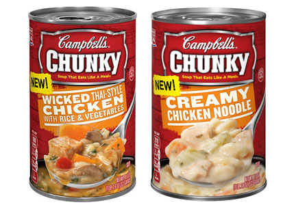 Campbell's Chunky chicken soups