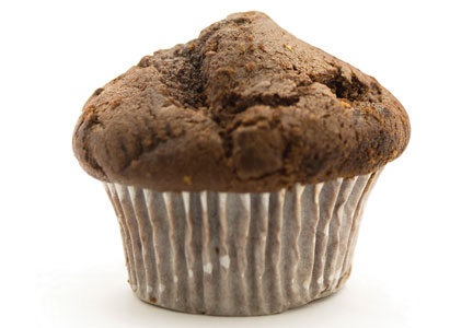 Reduced sugar muffin