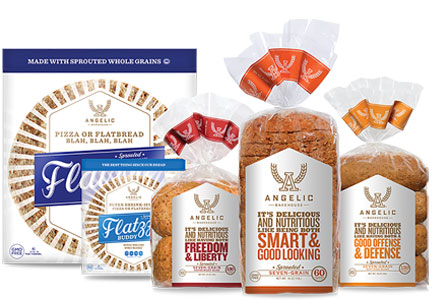 Angelic Bakehouse products - clean label