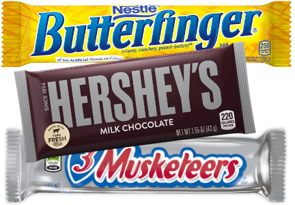 Chocolate bars, clean label confectionery