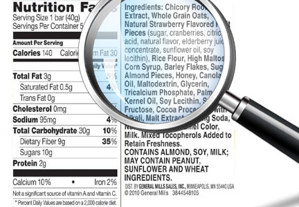 Clean label ingredients