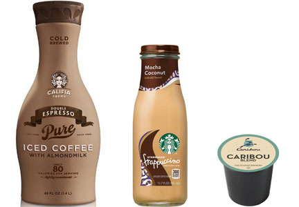 Coffee segment growth - iced coffee, single-serve coffee, ready-to-drink packaged coffee