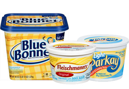 ConAgra spreads with no phos - Fleischmann's, Blue Bonnet, Parkay