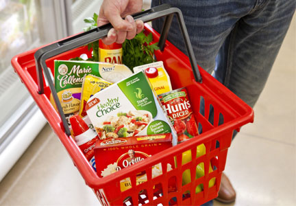 ConAgra products in grocery basket
